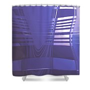 Moveonart New American Indian Architecture 1 Shower Curtain