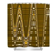 Moveonart New American Indian Architecture 2 1 Shower Curtain