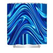 Moveonart New Art Wave 1 Shower Curtain