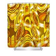 Moveonart New Composition 1 Shower Curtain
