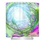 Moveonart New Possiblity Shower Curtain