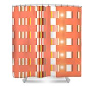 Moveonart Orange Interactive Spiritual Solutions Shower Curtain