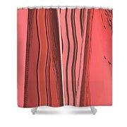 Moveonart Orange Moment 1 Shower Curtain