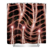 Moveonart Organic Mystery 1 Shower Curtain