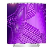 Moveonart Other Worlds One Shower Curtain
