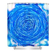 Moveonart Peace Renewal Planet Earth Shower Curtain