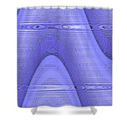 Moveonart Peaceful Presence 2 Shower Curtain