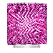 Moveonart Pink Shock Shower Curtain