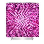 Moveonart Pink Shock Shower Curtain