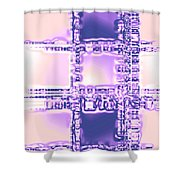 Moveonart Plan To Be A City Man Shower Curtain