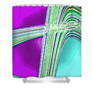 Moveonart Provide Us With Waves Amen Shower Curtain