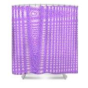 Moveonart Purple Cords Shower Curtain