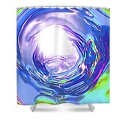 Moveonart Reassurance Shower Curtain