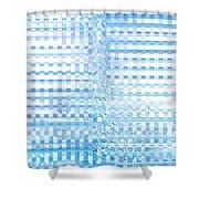 Moveonart Regenerate Reprogram Shower Curtain