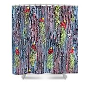 Moveonart Rinats Painting Shower Curtain