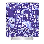 Moveonart San Francisco Window 5 Shower Curtain