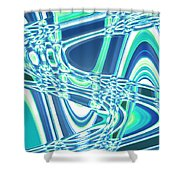 Moveonart Sharing Our Strength Shower Curtain