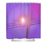 Moveonart Shift In Time 2 Shower Curtain