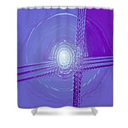 Moveonart Shift In Time 3 Shower Curtain