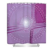 Moveonart Shift In Time 5 Shower Curtain