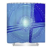 Moveonart Shift In Time Four Shower Curtain
