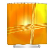 Moveonart Shift In Time One Shower Curtain