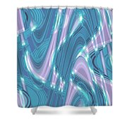 Moveonart Shifting Thought Forms 1 Shower Curtain