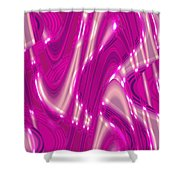 Moveonart Shifting Thought Forms 2 Shower Curtain
