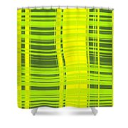 Moveonart Sometimes Simple Shower Curtain