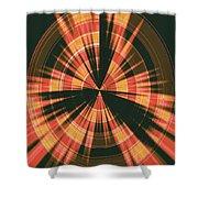 Moveonart Spiritual Radar Shower Curtain