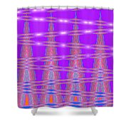 Moveonart Spontaneous Abstract 3 Shower Curtain