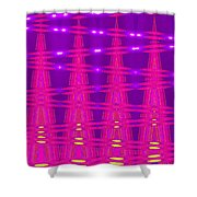 Moveonart Spontaneous Abstract 5 Shower Curtain