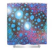 Moveonart Textural Pop Art 1 Shower Curtain