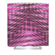 Moveonart Textured Dimensions 1 Shower Curtain