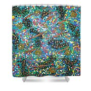 Moveonart The Celebration Shower Curtain