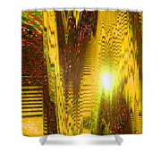 Moveonart The Light Shall Speak Shower Curtain