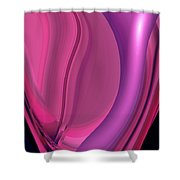 Moveonart The Red Passion Shower Curtain