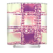 Moveonart Thoughtful Intersections Shower Curtain