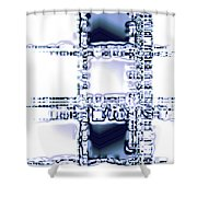 Moveonart Time To Think Shower Curtain