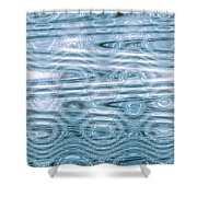 Moveonart Times Past Times Present Times Future Shower Curtain