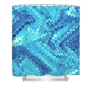 Moveonart Tranquil Cool Shower Curtain