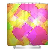 Moveonart Try Not Being Shy Shower Curtain