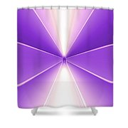 Moveonart Turn Our Light Up 2 Shower Curtain