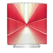 Moveonart Turn Our Light Up 3 Shower Curtain