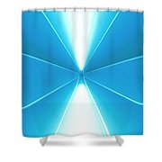 Moveonart Turn Our Light Up 5 Shower Curtain