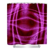 Moveonart Unknown Artistic Intelligence 2 Shower Curtain