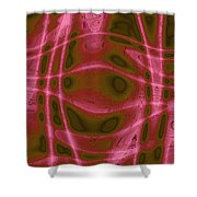Moveonart Unknown Artistic Intelligence Shower Curtain