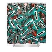 Moveonart Untitled 3 2005 Shower Curtain
