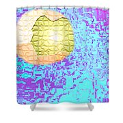 Moveonart Urban Light Worker Shower Curtain