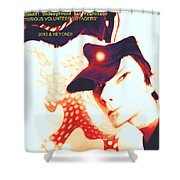 Moveonart Victorious Volunteer Voyager Shower Curtain